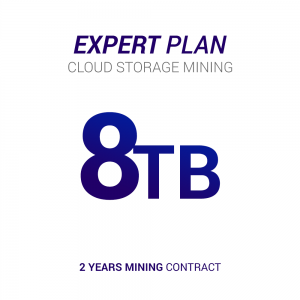 Cloud storage mining contact for 8tb hard drive size